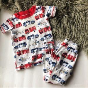Fire Truck Baby Pajamas